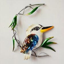 Kookaburra Metal Wall Art Australian Bird Hanging Decor, 28 cm Hanging Sculpt...