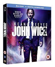 John Wick: Chapter 2 [Blu-ray + Digital Download] [2017] [Region Free] (Blu-ray)