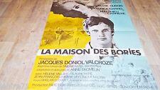 LA MAISON DES BORIES   ! affiche cinema animation bd dessin savignac 1969
