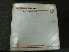 Detroit Diesel DDEC III3 IV 4 Single ECU Service Repair Troubleshooting Manual