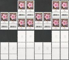 Phlox 5 Cent – aus 200er-Rolle mit EAN-Codes – postfrisch – Mi.Nr. 3296