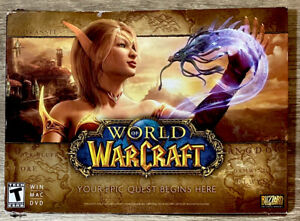 World of Warcraft Blizzard PC Win Mac DVD Game with Beginners Guide & Keys 2013