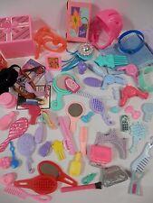 Huge Barbie House Accessories Lot - FRAME GIFTS MAKEUP KEYS SCUBA GOGGLES BELTS