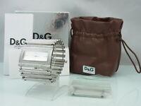 D/&G Dolce /& Gabbana Uhrenbox mit Booklet Uhrenverpackung