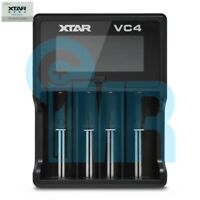 XTAR VC4 4 Channel Digital Battery Charger