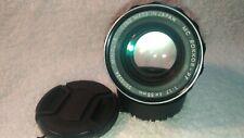 [EXCELLENT++++] Minolta MC Rokkor PF 55mm f1.7 MF Standard Lens From Japan #0512