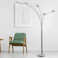 Design Steh Lampe Marmor-Sockel Stand Leuchte Wohn Ess Schlaf Zimmer Beleuchtung