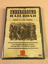 Underground Railroad - History Channel Documentary DVD Sealed New OOP