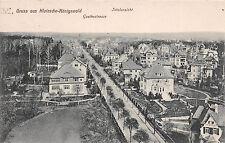Klotzsche Königswalde Goethestrasse Totalansicht Postkarte gel. 1918