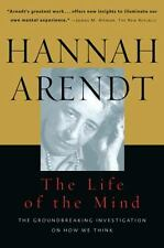 The Life of the Mind by Hannah Arendt (1981, Paperback)