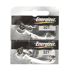 2 ENERGIZER 321 SR616SW SR616 SILVER OXIDE watch battery