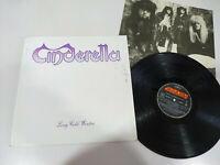 "Cinderella Long Cold Winter Spain Edition 1988 Mercury - LP 12"" Vinilo VG/VG"