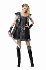 Medieval Warrior Princess Womens Costume Viking Ladies Fancy Dress Outfit
