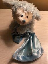 Baby Gund Plush Bear Blue Lovey Cuddly Prayer Fluffies Says The Lords Prayer