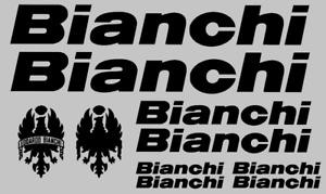 ADESIVI BIANCHI decals sticker bici