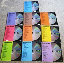 Pioneer Laser Karaoke Disc Lot of 10 Lot 2