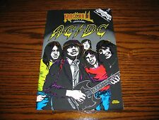 AC/DC - Rock-N-Roll  Comic Book!!  RARE!!