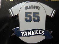 NY Yankees Pin - Hideki Matsui Road Jersey