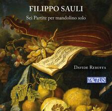 Sauli / Rebuffa - Six Partitas for Solo Mandolin [New CD] Hybrid SACD, 2 Pack