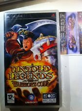 SONY PSP UNTOLD LEGENDS THE WARRIORS CODE - NUOVO SIGILLATO ITALIANO