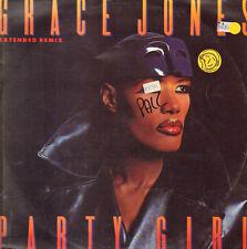 GRACE JONES - Party Girl - 1996 Manhattan Records - Emi Italy – 14 2016966