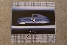 1951 Porsche 356 Aluminum Coupe Showroom Advertising Poster RARE!! Awesome L@@K