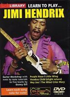LICK LIBRARY LEARN TO PLAY JIMI HENDRIX GUITAR DVD @scm