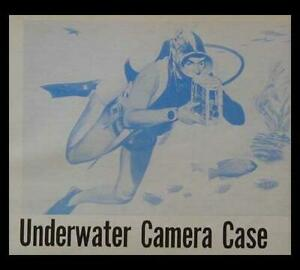 Divers Underwater Camera Case How-To build PLANS 8 mm Bell & Howell