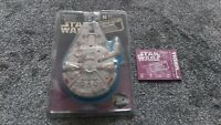 MILLENIUM FALCON CHALLENGE -STAR WARS LCD TIGER Handheld Game  Working 1997 Rare