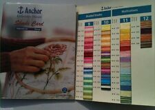 ANCHOR Shade Card Chart Book Colour Book Solid & Variegated for balls & Skiens