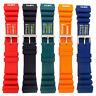 Tough PU SCUBA Divers Watch Strap ND Limits 18mm 20mm 22mm 24mm 5 Colours C038