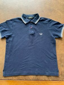 FRED PERRY+++POLO +++BLU+++TG M +++ORIGINALE100%++REUSE++