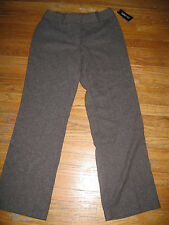 New! NWT East 5th Curvy Fit Dress Pants Size  8 Brown Tweed
