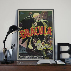 Dracula (1931) -  Movie Film Poster Print Picture A3 A4