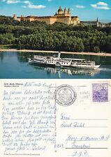 DS JOHANN STRUSS AUSTRIAN DAY CRUISER A SHIPS CACHED COLOUR POSTCARD