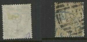 Great Britain Sc 52 used BLUE postmark  FVF