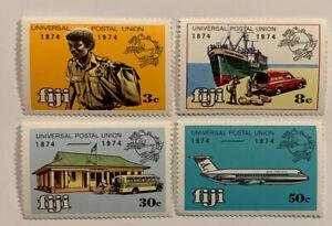 Travelstamps: 1974 FIJI STAMPS SCOTT# 347-350 MNH OG UNIVERSAL POSTAL UNION