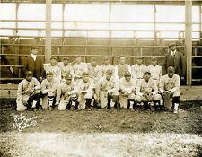 1924 HILLDALE DAISIES 8X10 TEAM PHOTO BASEBALL PICTURE NEGRO LEAGUE HILLDALES