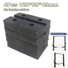 4Pcs Square Ox Tendon Rubber Arm Pads Car Lift Accessories For Auto Truck Hoist