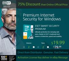 ESET Smart Security Premium 1 User / 1Y, Win & Mac, License Key in eBay Message