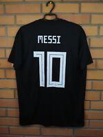 Messi Argentina Jersey 2018 Away L Shirt CD8565 Football Adidas Trikot Maglia