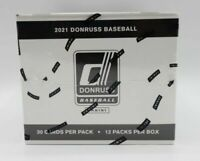 2021 Donruss Baseball Fat Pack Box 12 Packs of 30 Factory Sealed