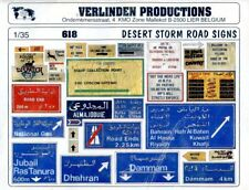 Verlinden Productions 1:35 Desert Storm Road Signs Diorama Accessory #618