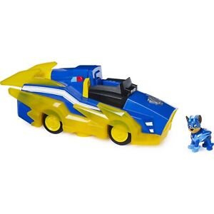 Paw Patrol Mighty Pups Chase Charged Up Transforming Vehicle FREE SHIPPING