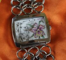 Ed Hardy Lynx Watch Stainless Steel 316L Womens Quartz F94