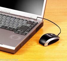 USB PS/2 Maus Kensington 1500151 VALUOPTICAL PC COMPUTER NOTEBOOK MOUSE BLACK