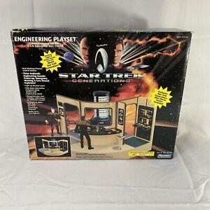 VTG 1994 Playmates Star Trek Generations Engineering Playset Collector Edition