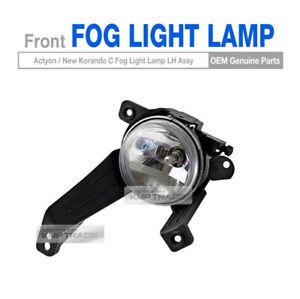 OEM Front Fog Light Lamp Left for SSANGYONG 2014 - 2017 Actyon / New Korando C