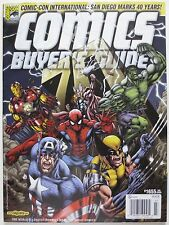 Comics Buyers Guide #1655 July 2009 Magazine Avengers Cover Comic-Con 40th (M533
