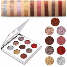 POP Donna Scintillante palette ombretto DIAMANTE GLITTER OPACO Set trucco